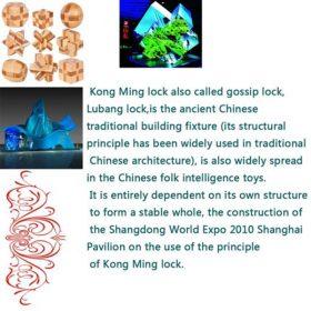 Kong Ming Brain Puzzle