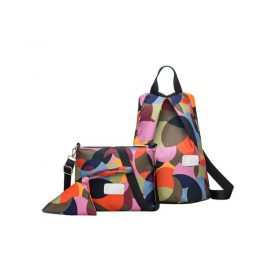 buy Anti Theft Colorful Backpack