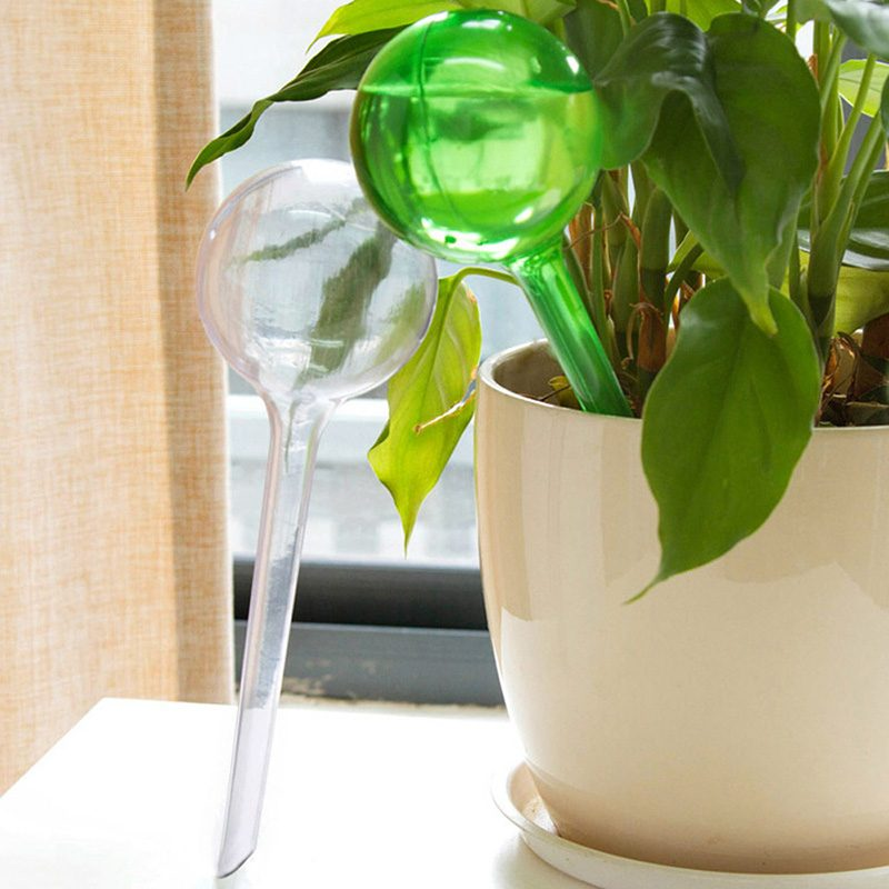 Self Watering Plant Bulbs Water Globes Indoor Outdoor Automatic Holiday