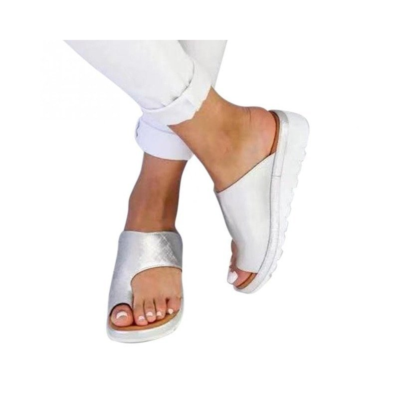 ShoesBunion Women Comfy Sandals Correcting Platform Sandal l1J3TFuKc