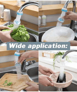Rotatable Water Saving Faucet Head
