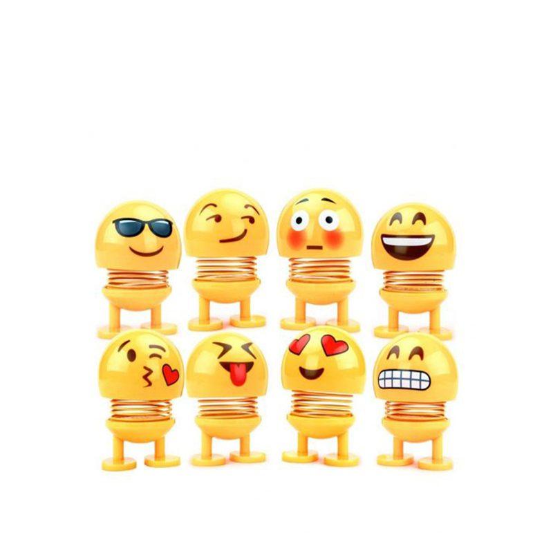 buy Car Shaking Head Emoji Toys