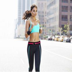 Dual Pocket Running Belt
