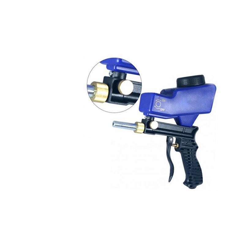 Portable Gravity Feed Sandblasting Gun