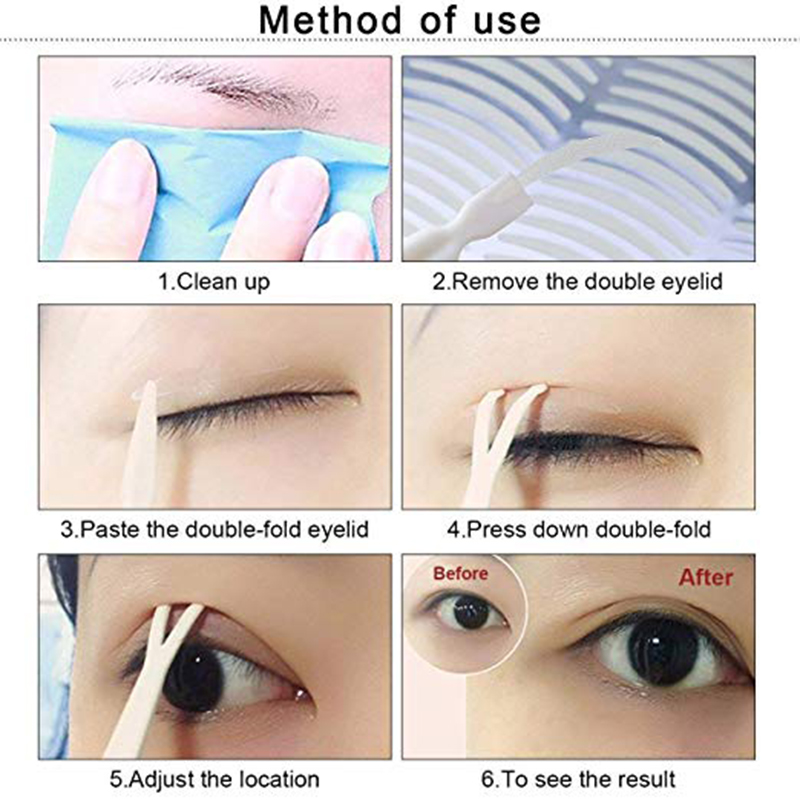 Doubled Sided Eyelid Tape Mexten Is Of High Quality