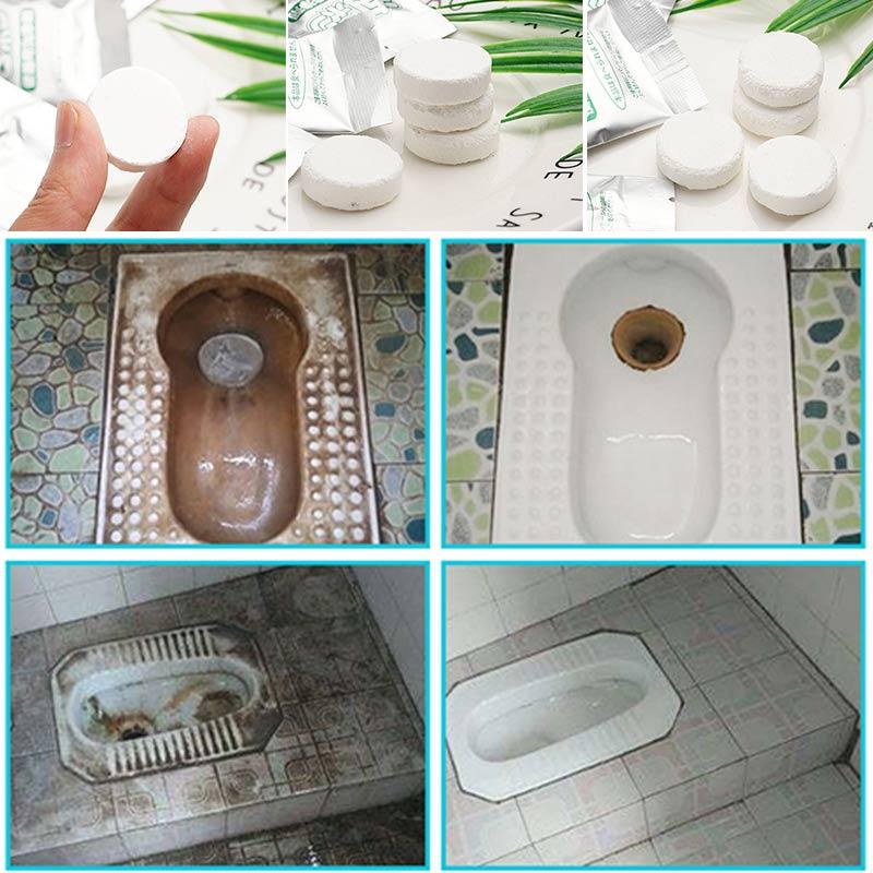 Toilet Bubble Bomb Cleaner ( 4 pcs)