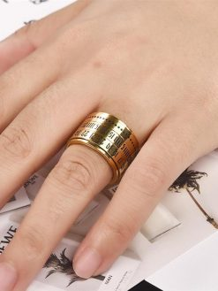 Arabic Numerals Ring
