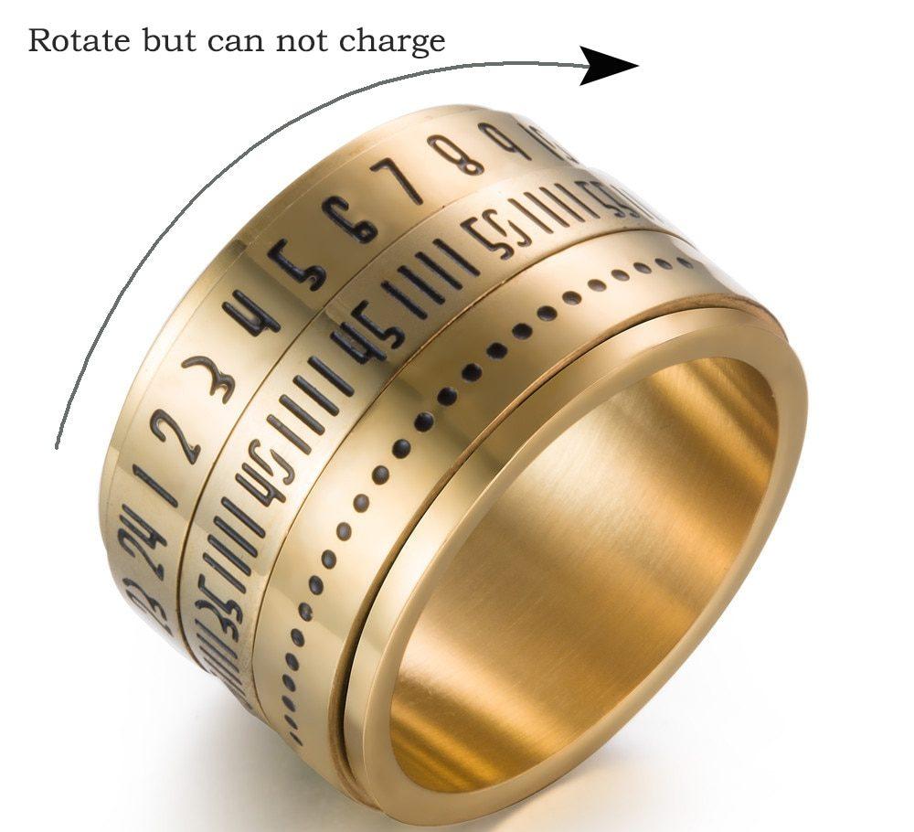 Arabic Numerals Ring