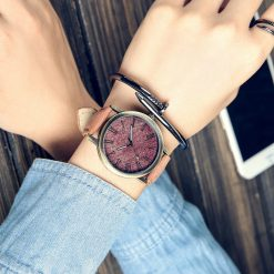 Denim Leather Watch
