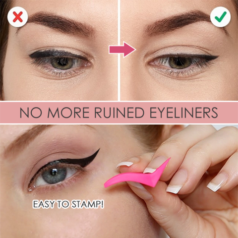 Winged Eyeliner Stamp