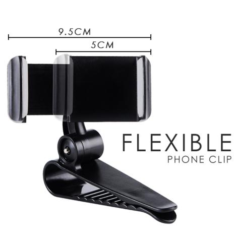 Car Sun Visor Phone Clip Holder