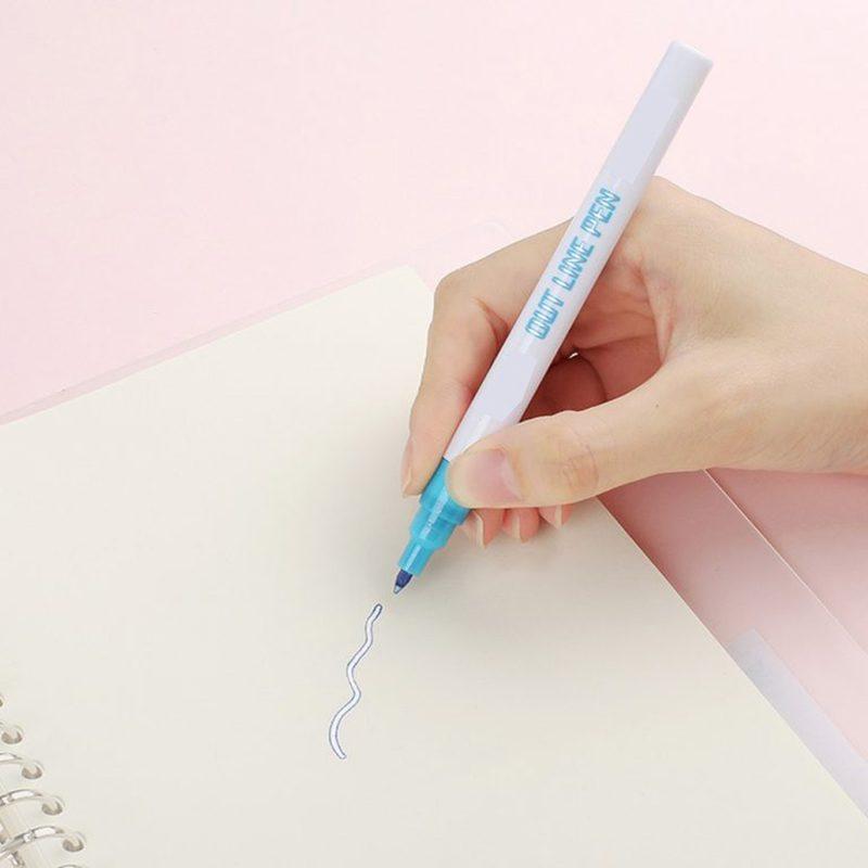 Double Line Outline Pen