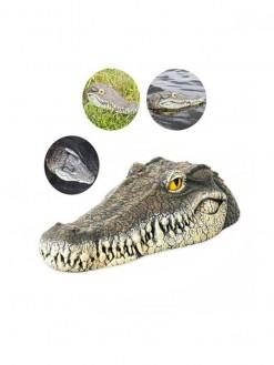 Floating Crocodile Head