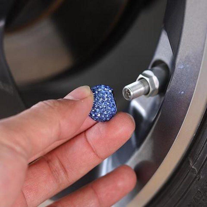 Diamond Car Tire Cap