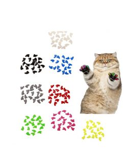 Cat Nail Caps (20 pcs)