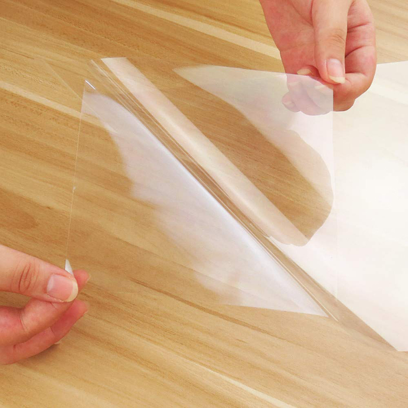 Magic Transparent Furniture Protective self-adhesive Film For Marble Wood Table
