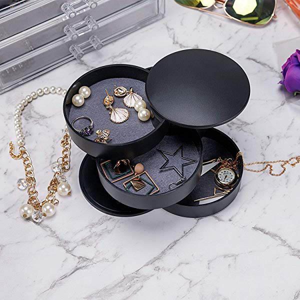 Advanced rotating jewelry box