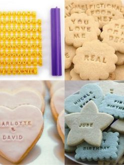 Alphabet Cookie Stamp