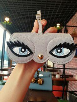 Cartoon Women Sunglasses Case