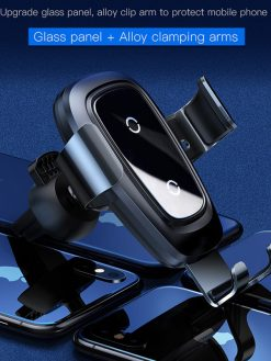 Qi Charger Car Holder