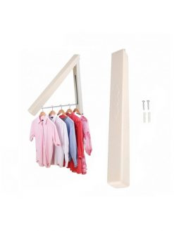 Folding Retractable Clothes Rack