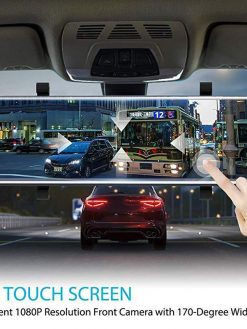 Full-Screen LCD Rearview Mirror