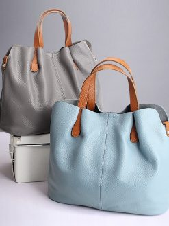 Two In One Leather Bag