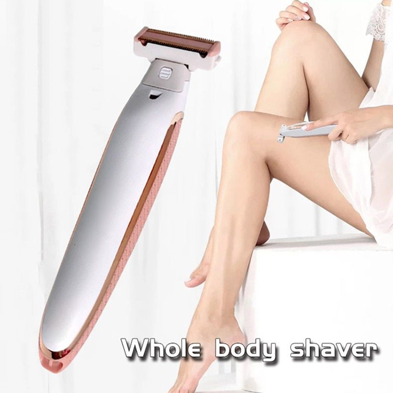 Electric Rechargeable Body Shaver For Women Perfect Hair Remover
