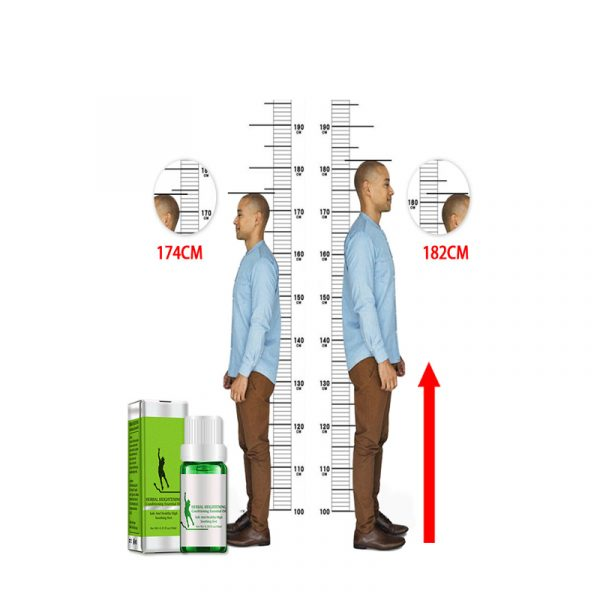 Height Increase Growth Boosting Essential Oil