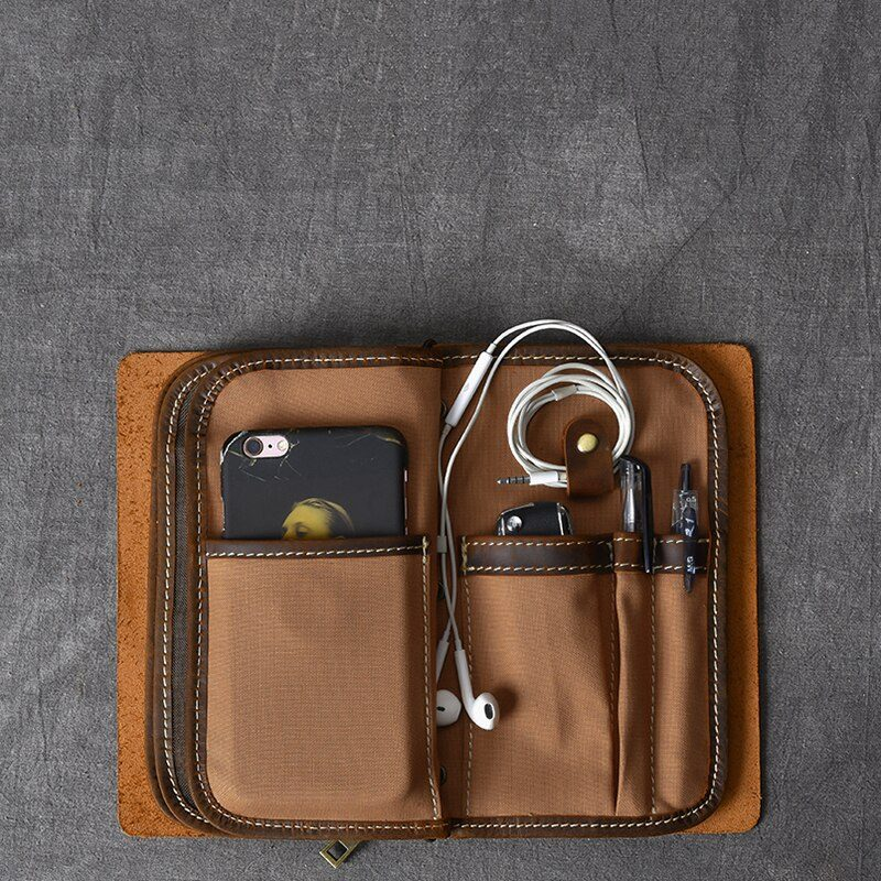 Handmade Leather Travel Purse