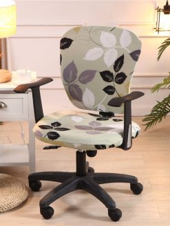 Printed Computer Chair Cover