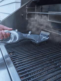 BBQ Vapor Cleaner Brush