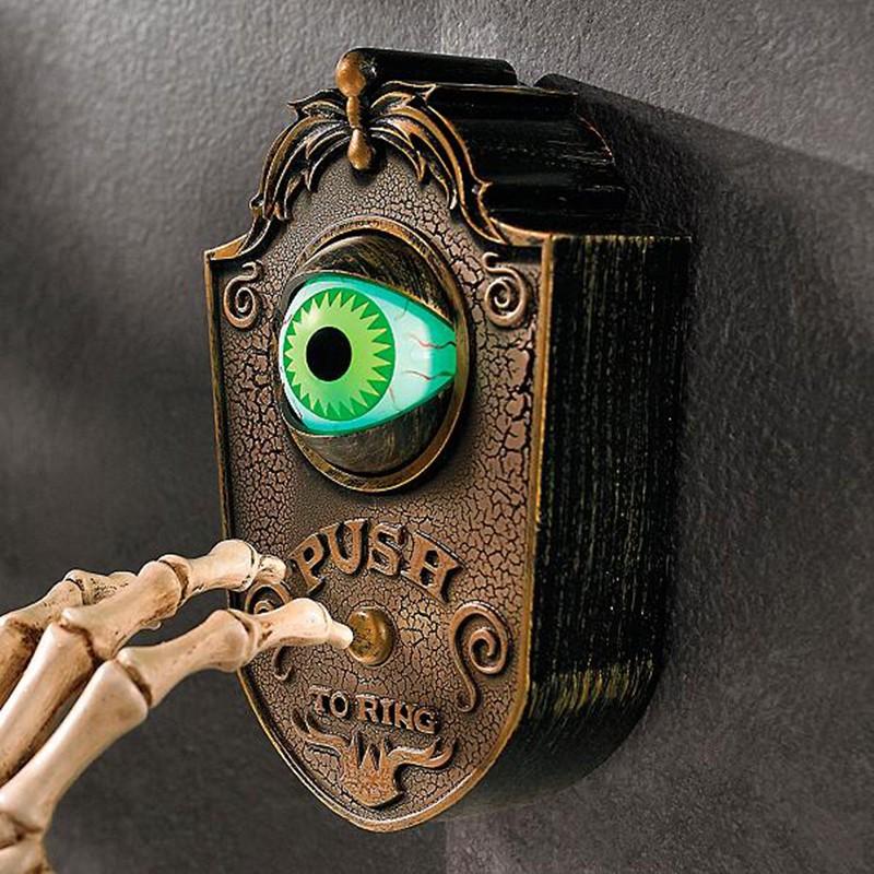 Halloween Doorbell Eyeball