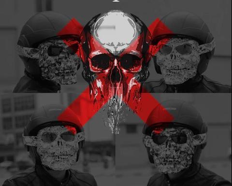 Premium Full Face Motorcycle Mask