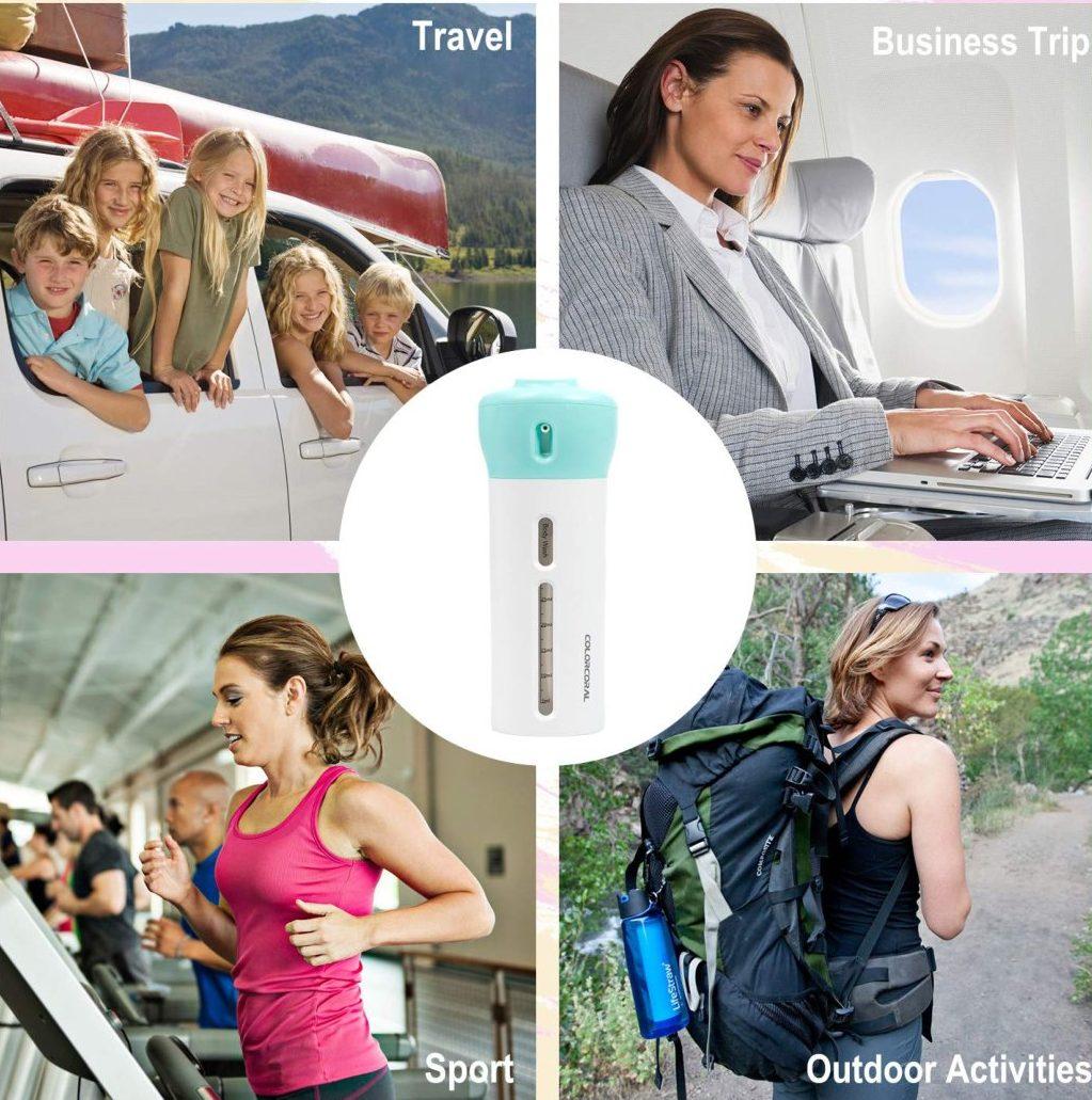 4-in-1 Lotion Travel Dispenser