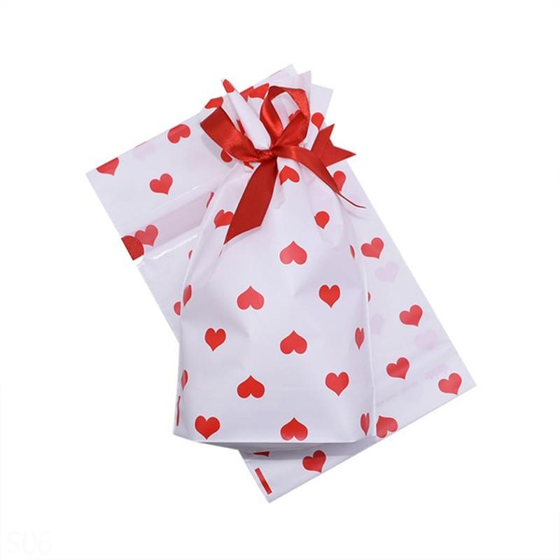 Christmas Drawstring Gift Bag