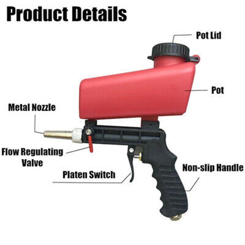 Portable Gravity Sandblaster