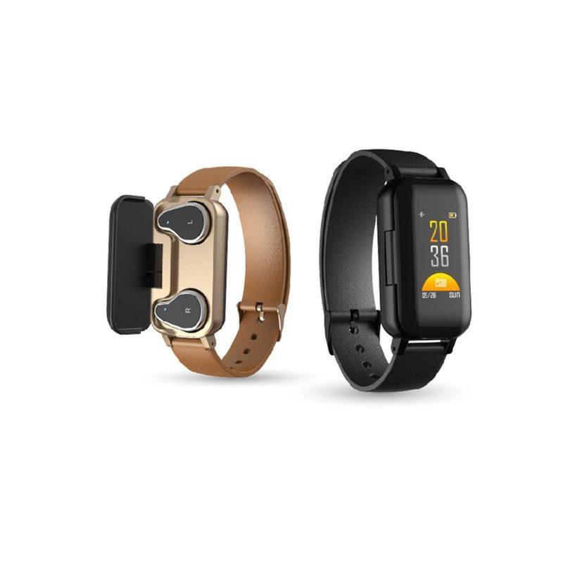 Smartwatch Wireless Dual Earphone