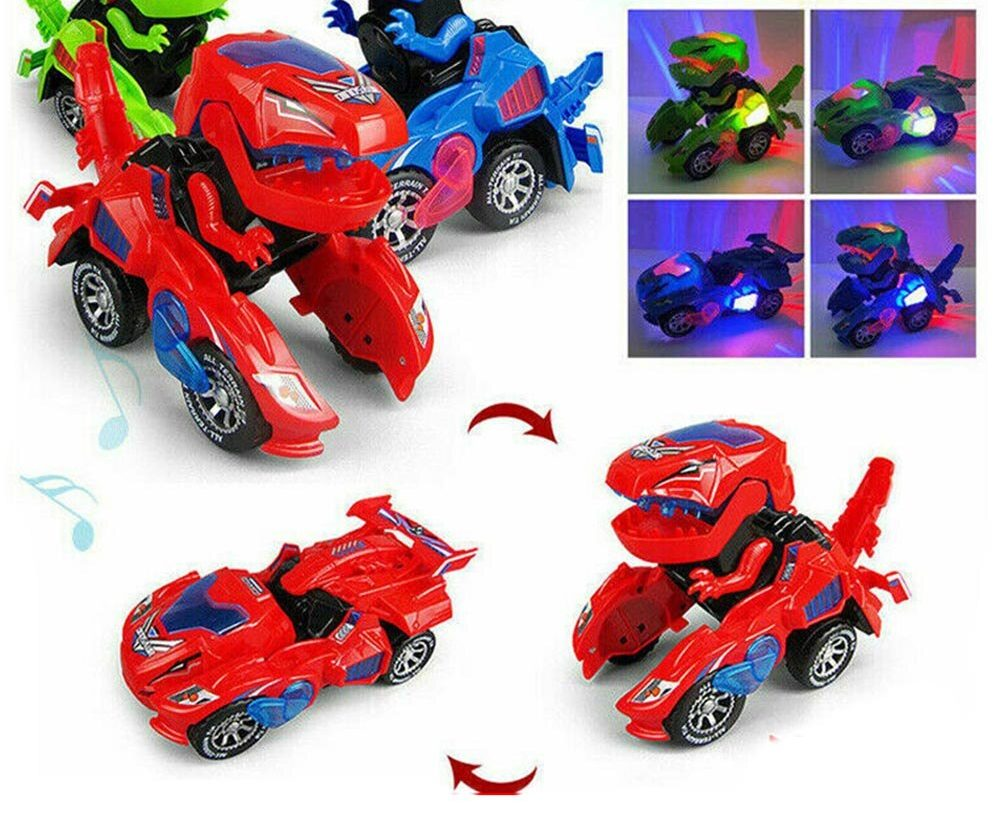 Dinosaur LED Toy Car