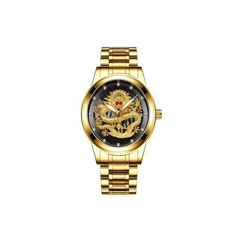 Golden Luxury Waterproof Watch