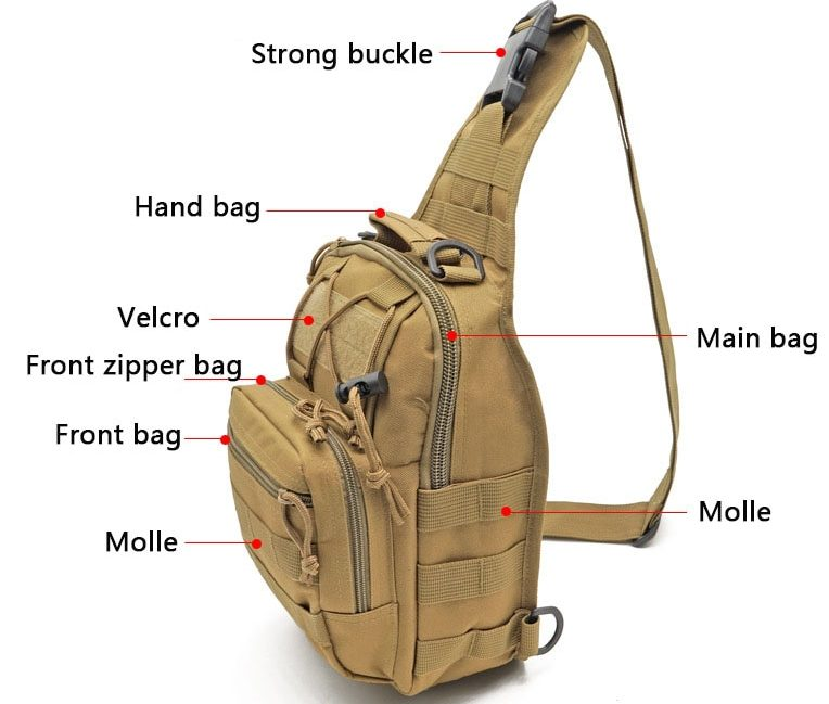 Tactical Cross-Body Sling Pack