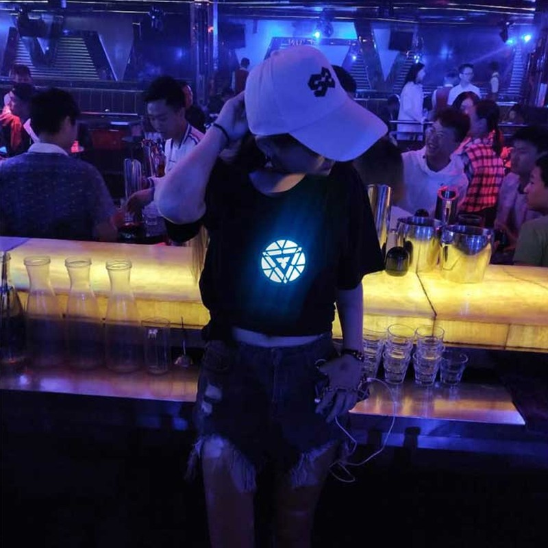 LED Acoustic Control T-Shirt