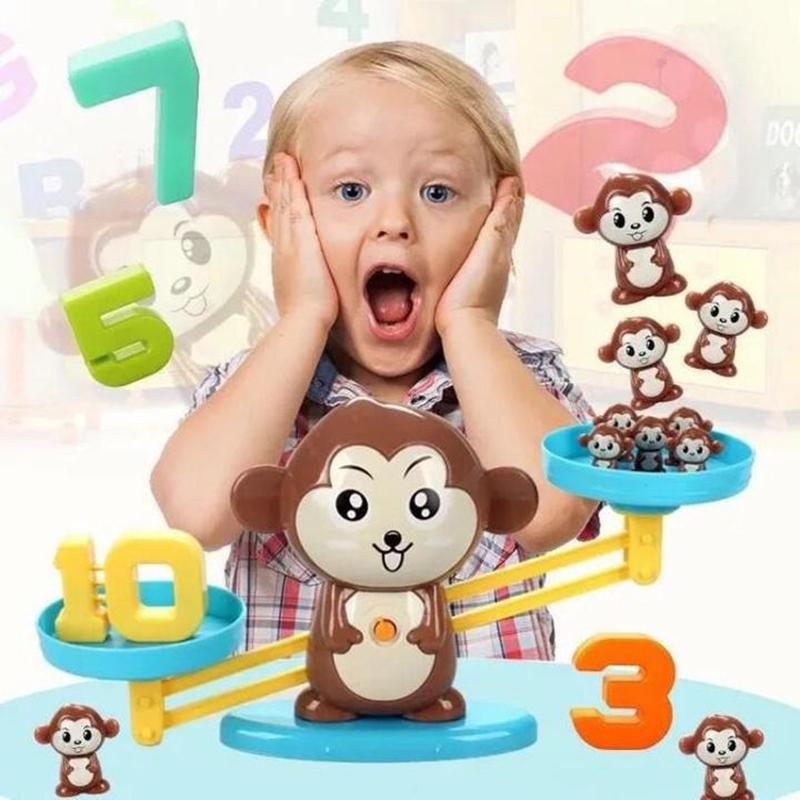 Monkey Balance Math Game