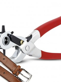 Multifunctional Home Rotating Leather Perforator