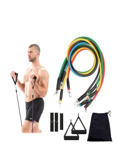 Resistance Band Set (11 Pcs Set)