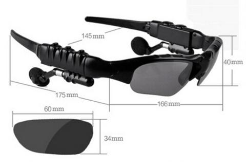 Wireless Bluetooth Headset Riding Glasses