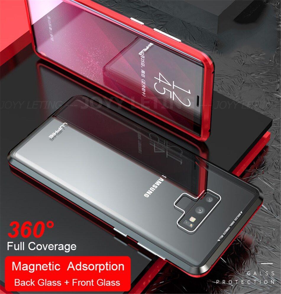 Magnetic Adsorption Transparent Case