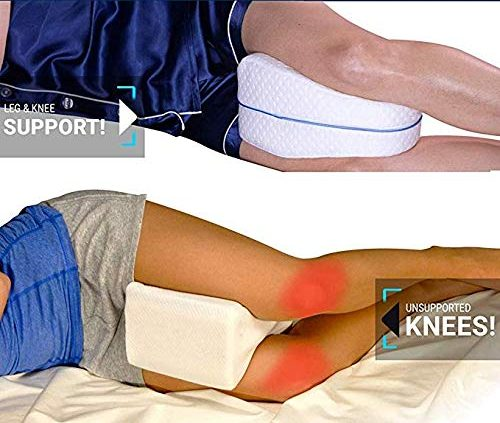 Orthopedic Knee Pillow With Memory Foam