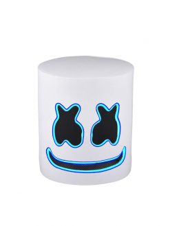 Halloween DJ Mask Neon