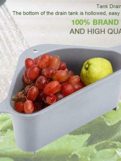 Triangle Multifunctional Drain Shelf